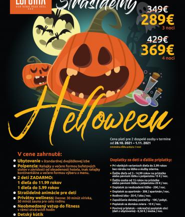 Strašidelný Halloween v Eufórii (28.10.-1.11.2021)