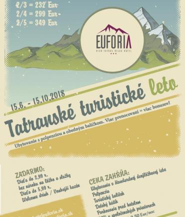 Tatranské turistické leto (15.6.-15.10.2018)