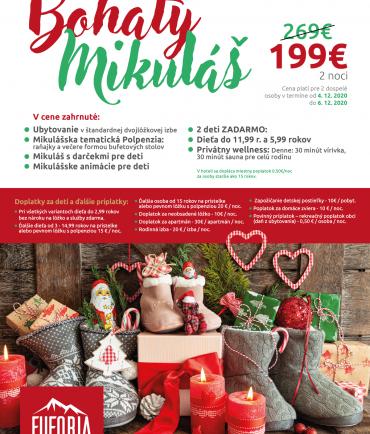 Generous St. Nicholas at Hotel Euforia (6.-8.12.2019)