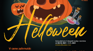 Scary Halloween at hotel Euforia (28.10.-1.11.2021)