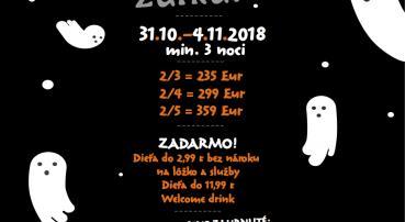 Halloween v Tatrách (31.10.-4.11.2018)